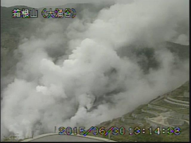 箱根 温泉 火山
